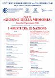 Napoli, 29 gennaio 2018: Università Federico II (C.I.R.B.)