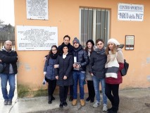Presso la Casa della Memoria (Servigliano)