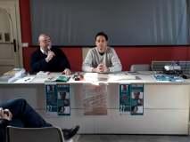 Con Fabio Paci giornalista