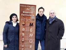 Con Fabio Paci presso la Casa della Memoria