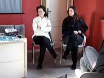 Federica Aiello e Chiara Esposito presso la Casa della Memoria