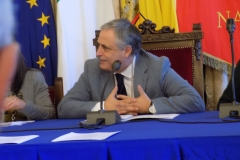 L'assessore alla Cultura Dott. Nino Daniele