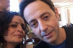 Roberto Giordano e Federica Aiello
