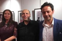 Bari Mediateca Regionale. Con il presidente Antonio Mercurio dell'Ass. Pugliese Italo Polacca