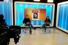 Televomero Tra le righe. Intervista di Francesca Giorgio.