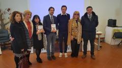 Con il Presidente del Museo Palatucci Marcello Naimoli, il vice Presidente Michele Aiello, la Dirigente Antonella Maucione, la Dirigente Titti Gibboni