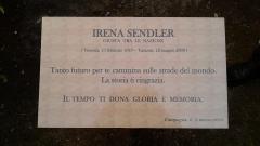 Targa in Memoria di Irena Sendler (Museo Palatucci in Campagna)