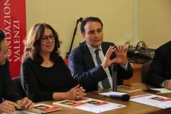 Prof.ssa Suzana Glavas e il Presidente Marco Mansueto.