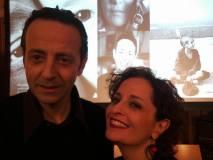 Varsavia, 29 gennaio 2018: Roberto Giordano e Federica Aiello, presso l'Istituto Italiano di Cultura in Varsavia