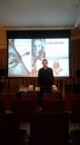 Varsavia, 29 gennaio 2018: Roberto Giordano presso l'Istituto Italiano di Cultura in Varsavia
